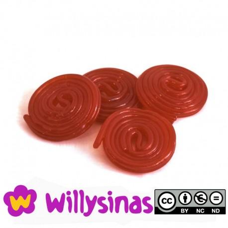 Discos de Regaliz Rojos