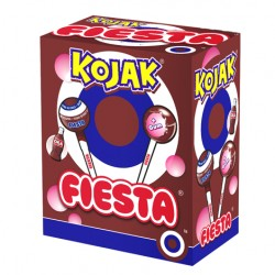 Chupon Kojak Cola relleno de chicle