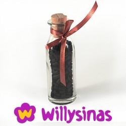 Botella de lechera de pastillas de Regaliz Natural