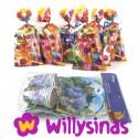 Bolsas y Pack de menaje de Winnie the Pooh, Heffalump y Tiger