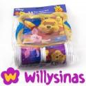 Pack de menaje de Winnie the Pooh y su amigo Pidgy