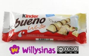 kinder bueno white chocolate blanco exquisito